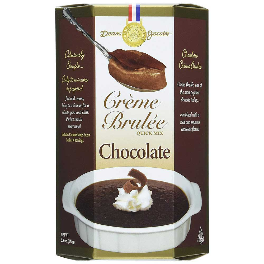 Chocolate Crème Brulee Mix