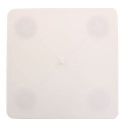 "11"" Square Bakery Craft Separator Plate"