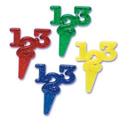 """Picks- """"123"""" Glitter"""