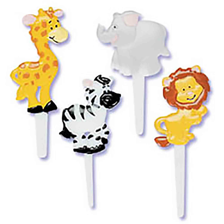 Puffy Picks-Zoo Animals
