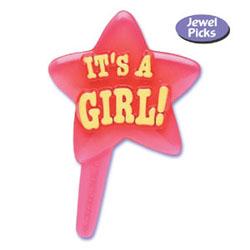 """IT'S A GIRL!"" Pink Stars Picks"