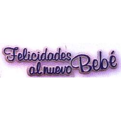 Felicidades Al Nuevo Bebè/New Baby Plaque-Spanish