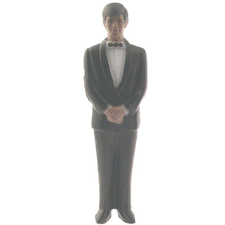 Groomsmen African American Black Suit