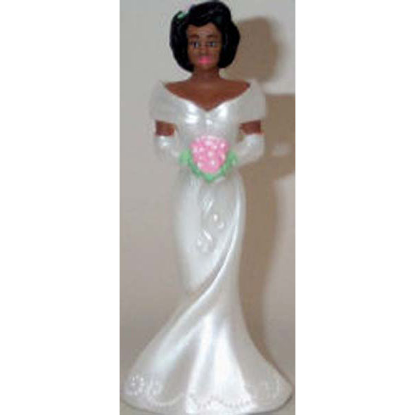 Bridesmaids African American-White Dress