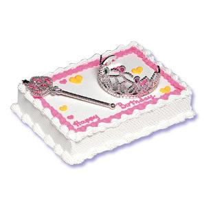 Princess Cake Kit w/ Crown & Wand