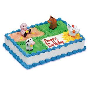 Farm Animals Cake Kit