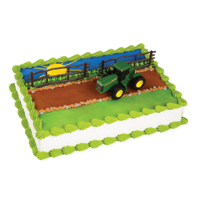 John Deere Kitchen Ideas: John Deere® Tractor Cake Kit - BC-CK382E