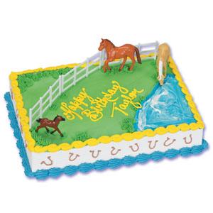 Horse Cake Set