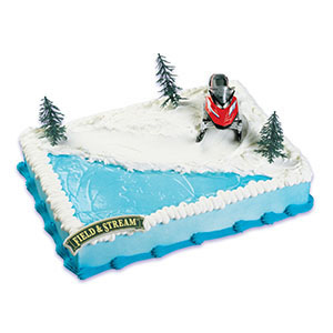 Field & Stream® Snowmobile Cake Kit