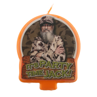 Duck Dynasty Candle