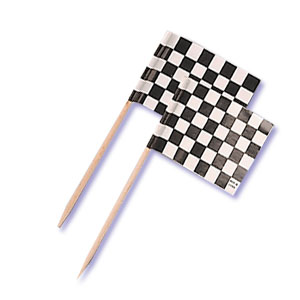 Checkered Flags/Toothpicks