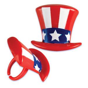 Rings - Patriotic Hats