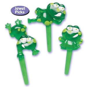 Frogs Puffy Picks