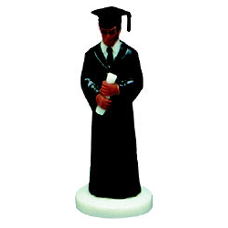 Graduation Figure-A.A. Boy w/ Black Gown