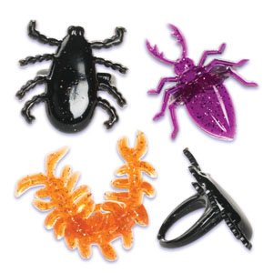 Creepy Crawly Rings