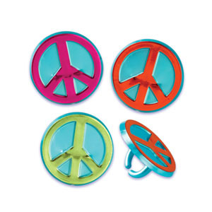 Rings - Peace Sign