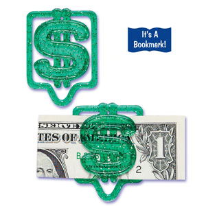 Money Clip Bookmark/Picks