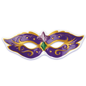 Pop Top - Mardi Gras Mask