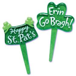Picks- St. Patrick's Glitter