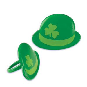 Rings - St. Patrick's Day Derby Hat