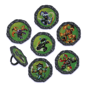 Skylanders Giants Rings