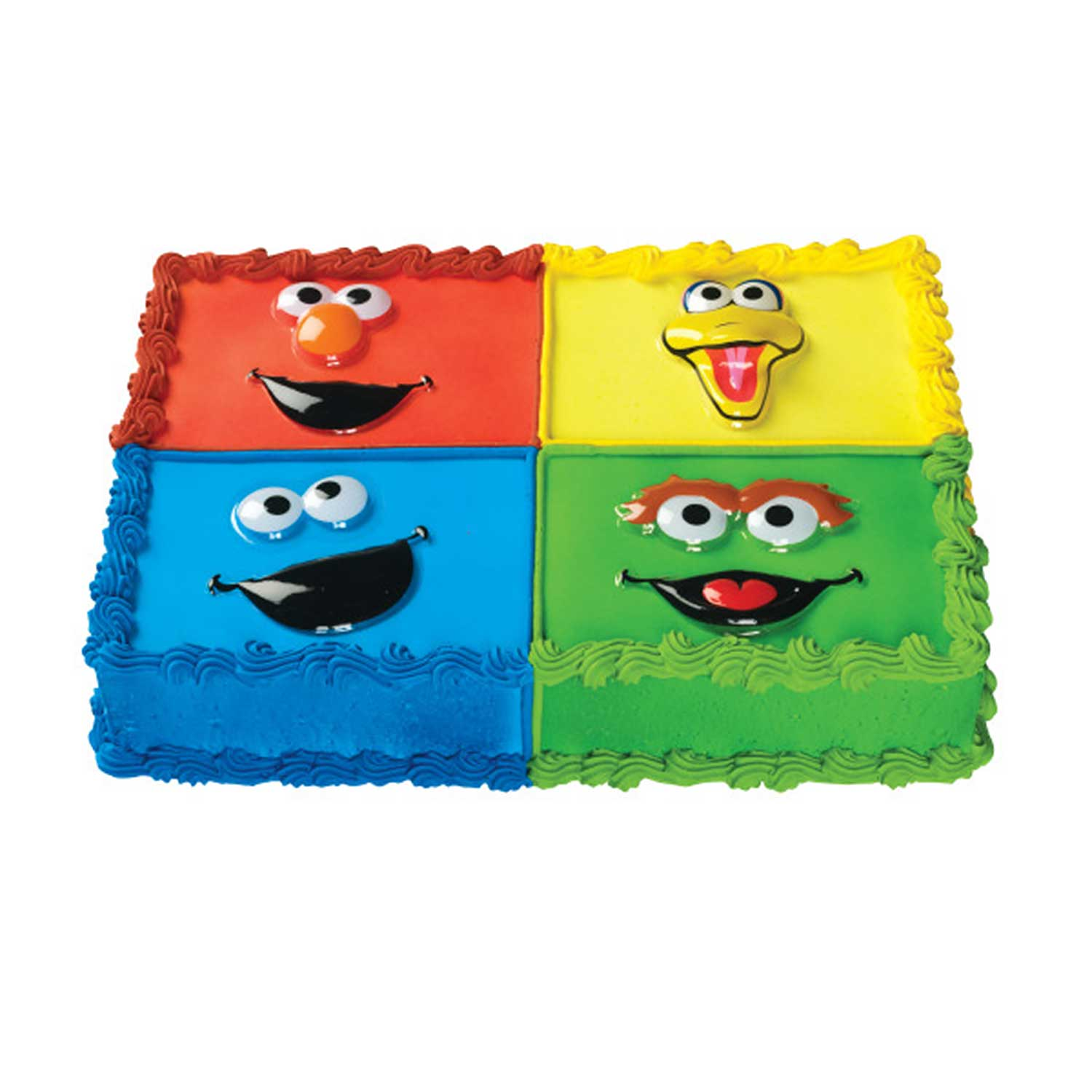 Pop Top- Sesame Street Faces