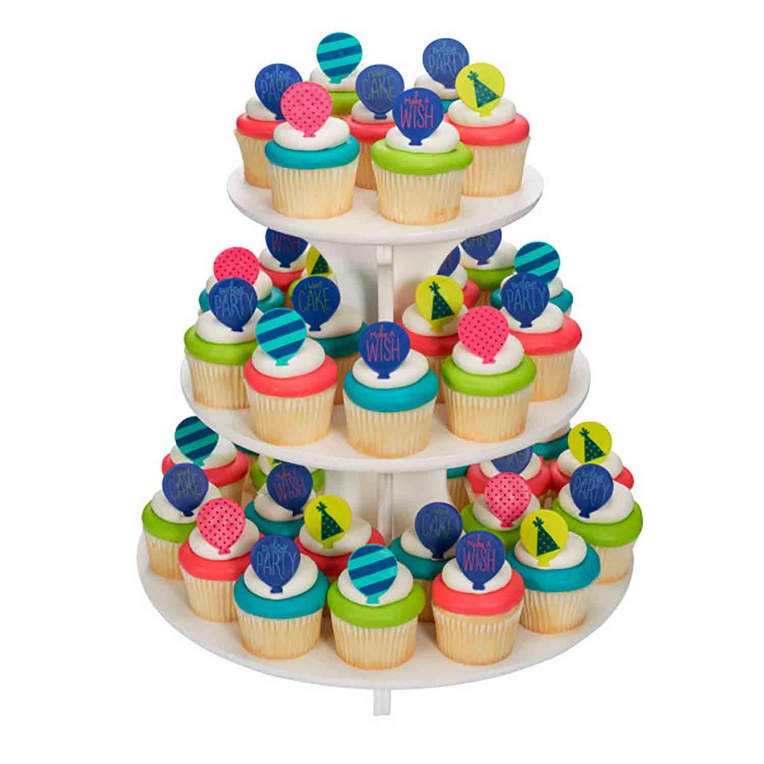 Cupcake Stand -  Single Use 3-Tier Treat Stand