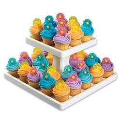 Square Stand - Single Use 2-Tier Treat Tree