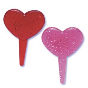 Picks-Glitter Heart