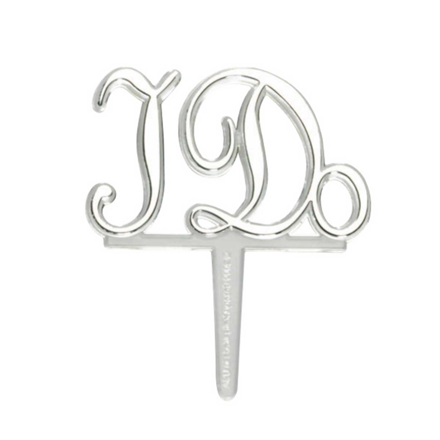 "Picks- ""I Do"" Silver"