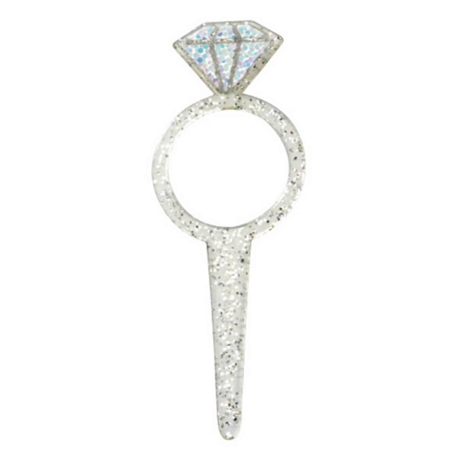 Picks- Diamond Ring Glitter