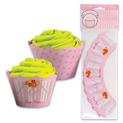 Cupcake Wrap- Best Wishes
