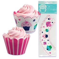 Cupcake Wrap- Sweets