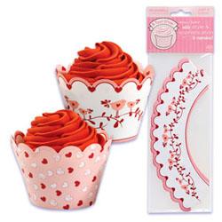 Cupcake Wrap- Valentine