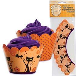 Cupcake Wrap- Halloween