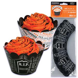 Cupcake Wrap - Graveyard