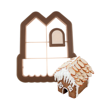 3-D Gingerbread House Cookie Cutter