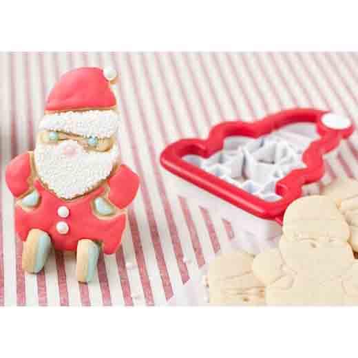 Cookie Cutter - 3D Santa