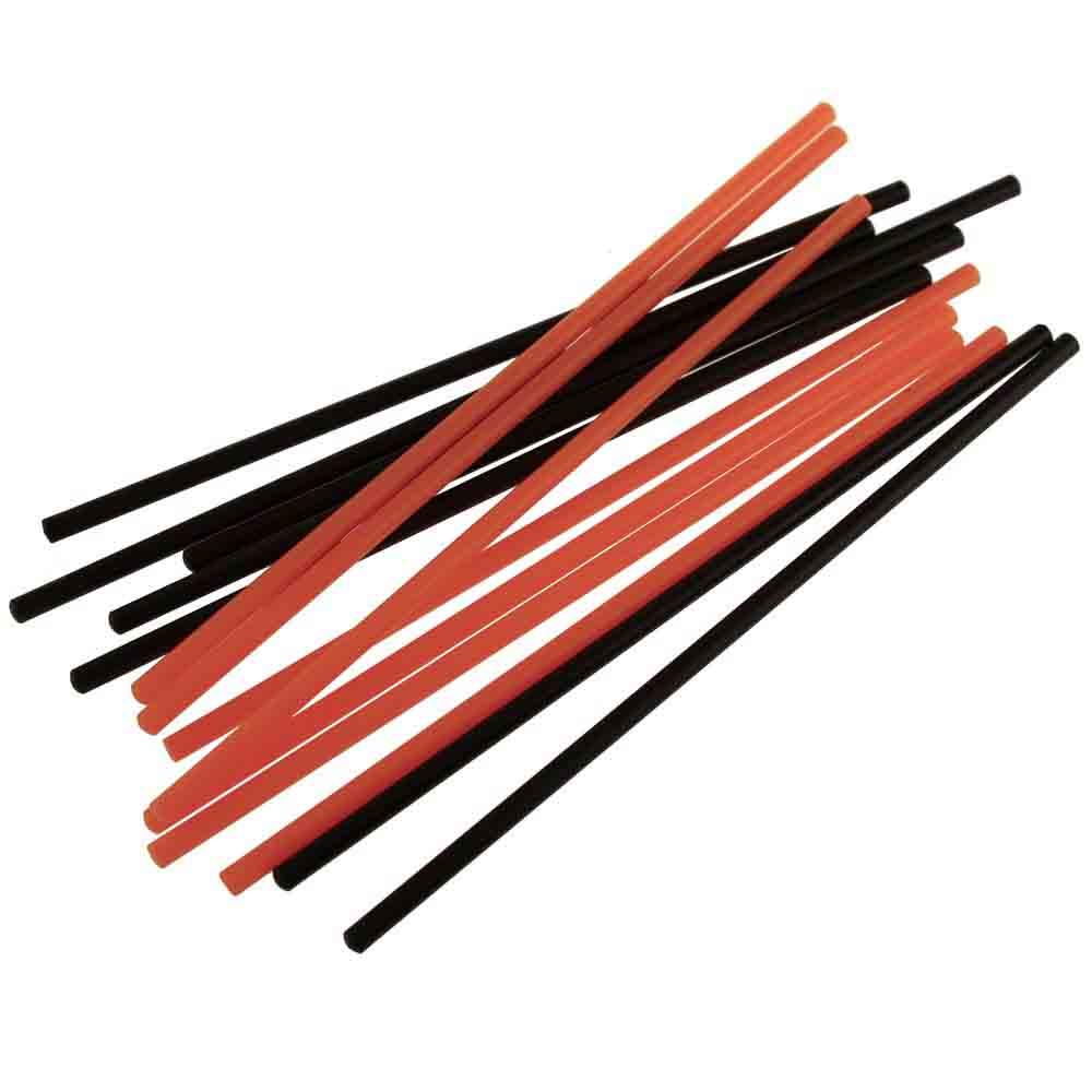 Orange and Black Cake Pop Sticks