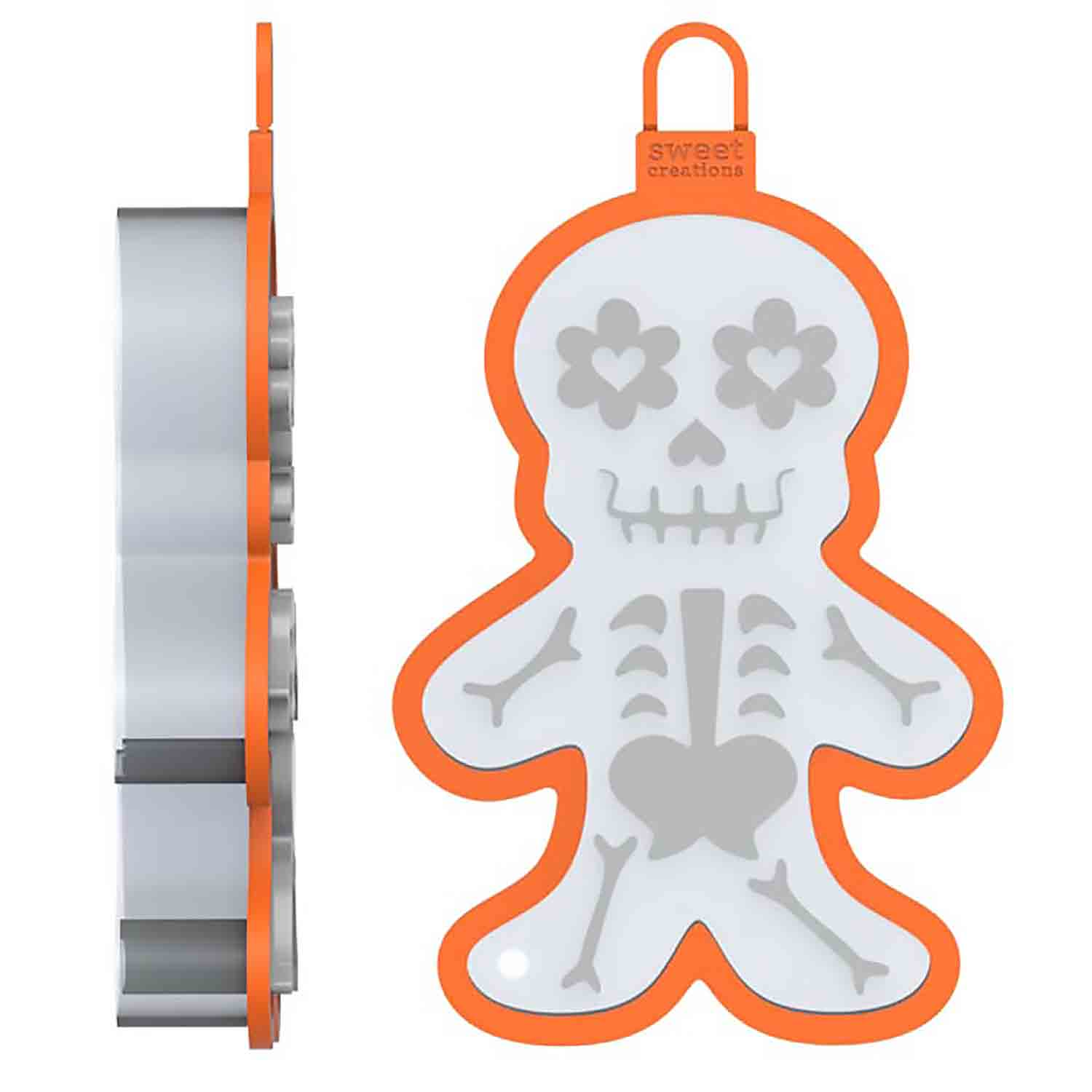 Skeleton Cookie Cutter Stamp
