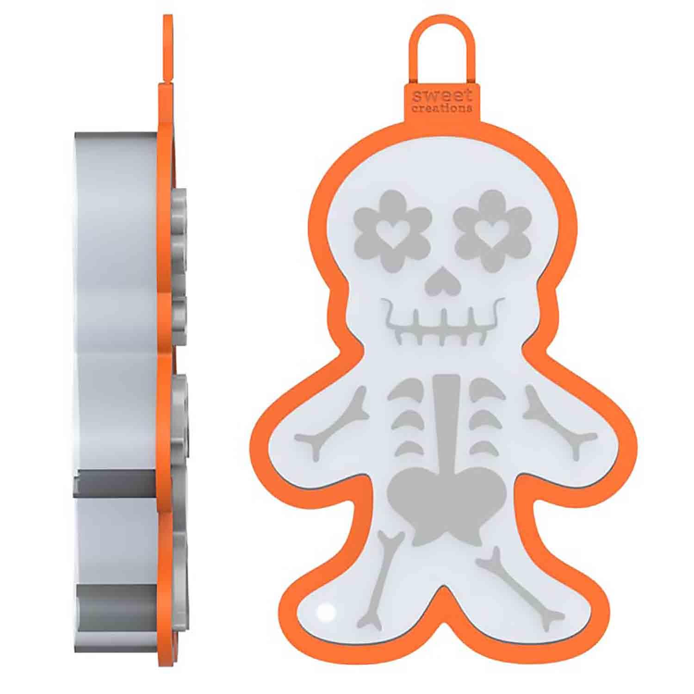 Skeleton Cookie Cutter Stamp