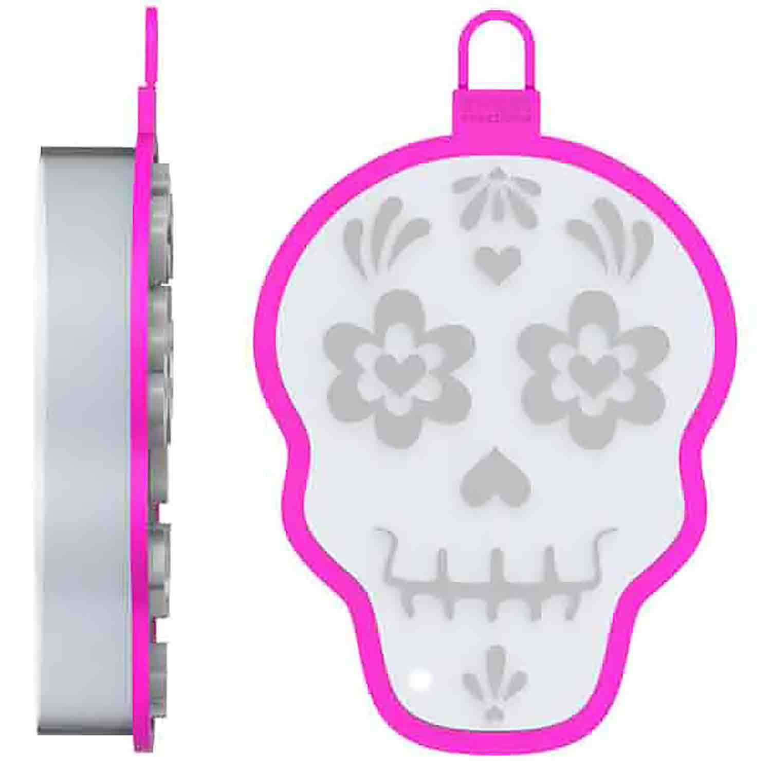 Skull Cookie Cutter Stamp