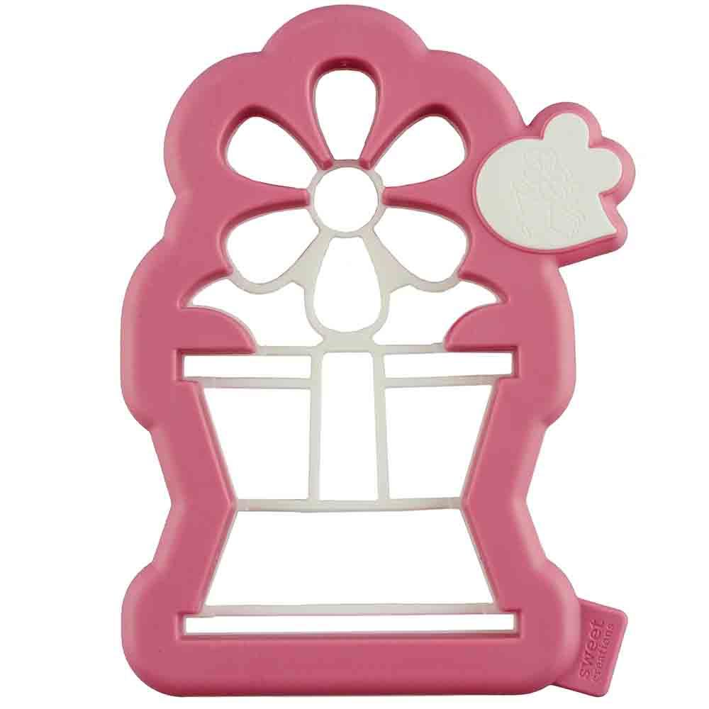 3-D Flower Pot Cookie Cutter