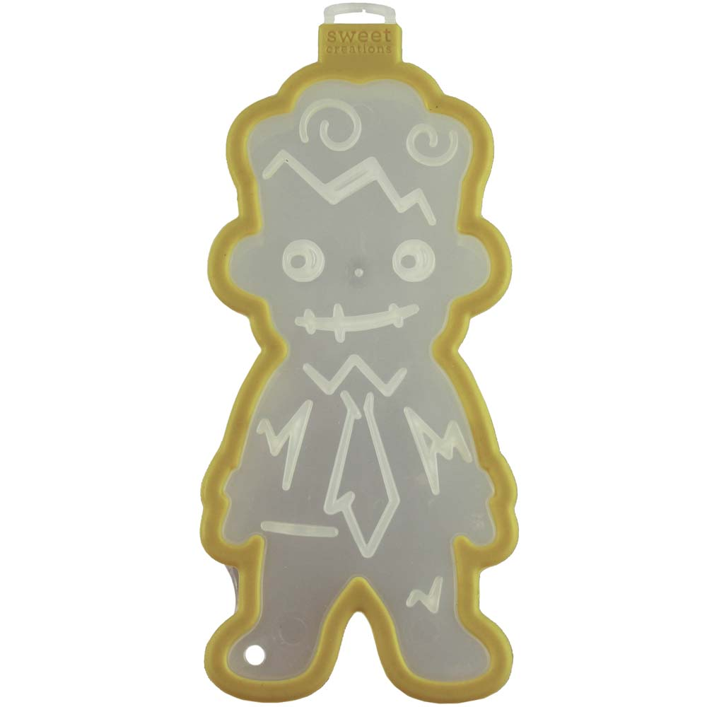 Zombie Boy Cookie Cutter Stamp