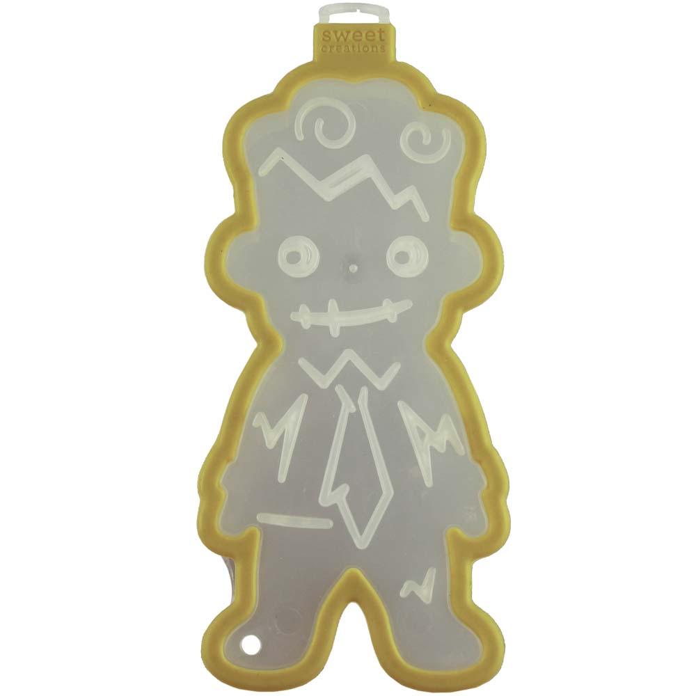 Zombie Boy Cookie Cutter Stamp
