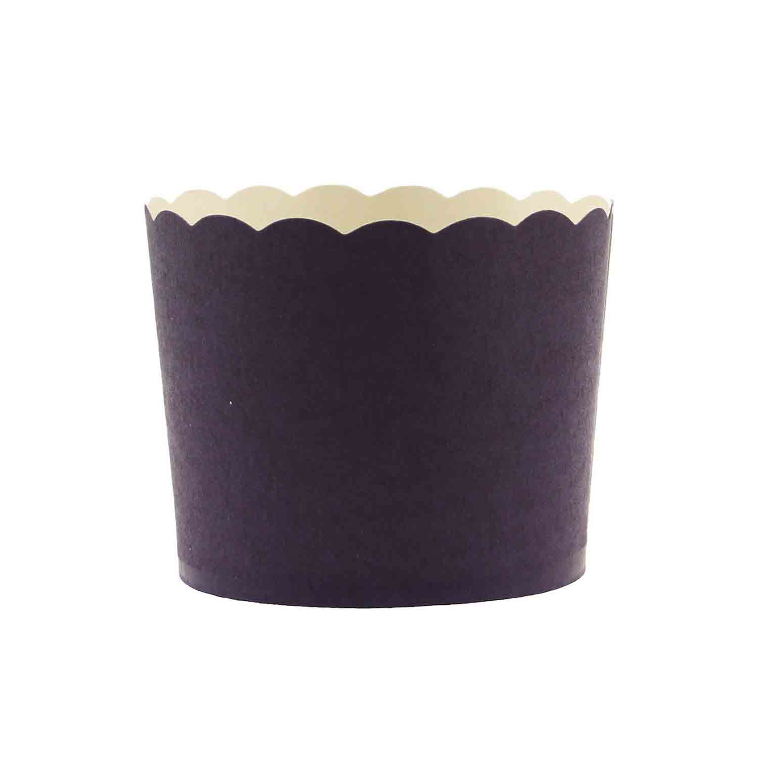 Navy Blue Bake In Cups - Small