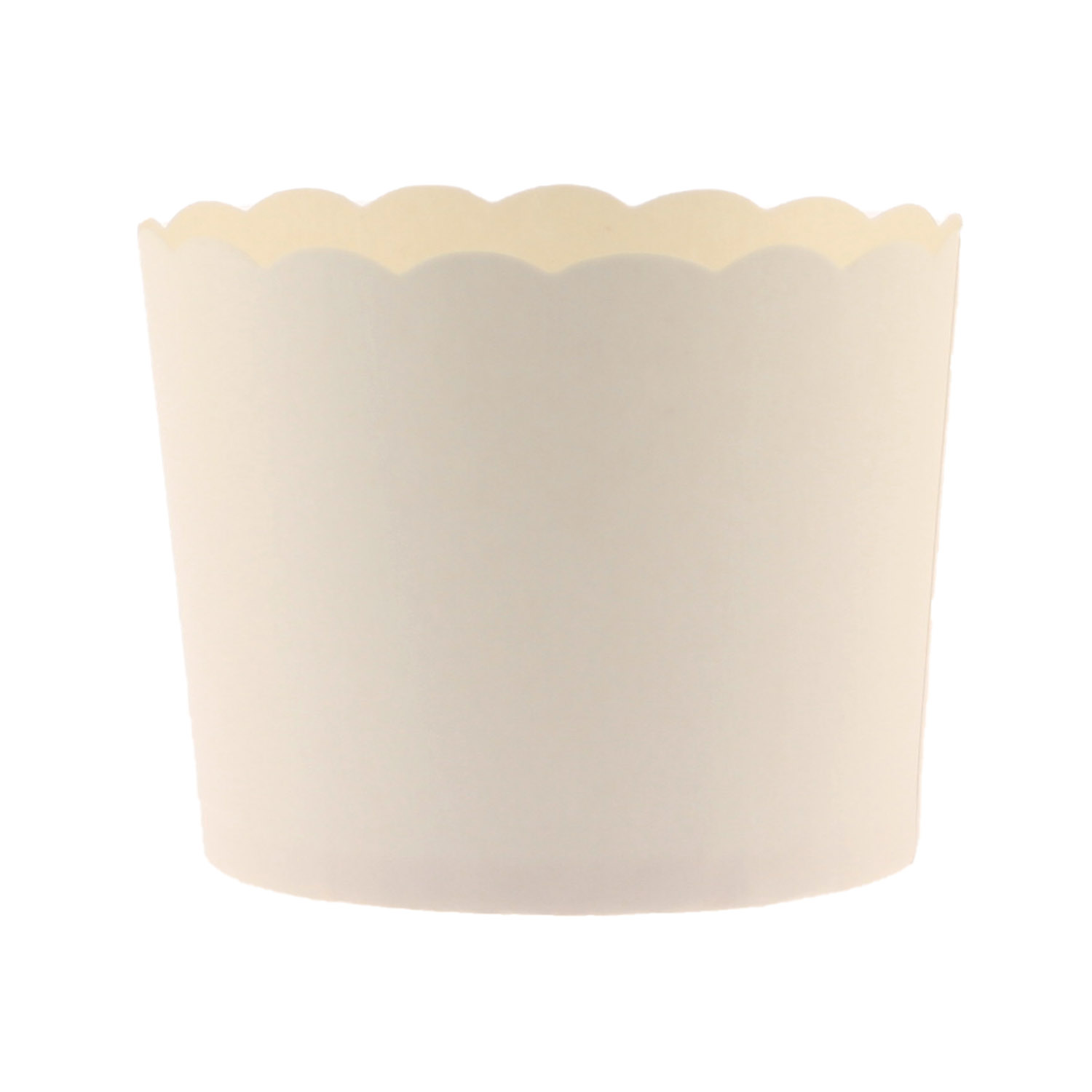White Bake In Cups - Lg