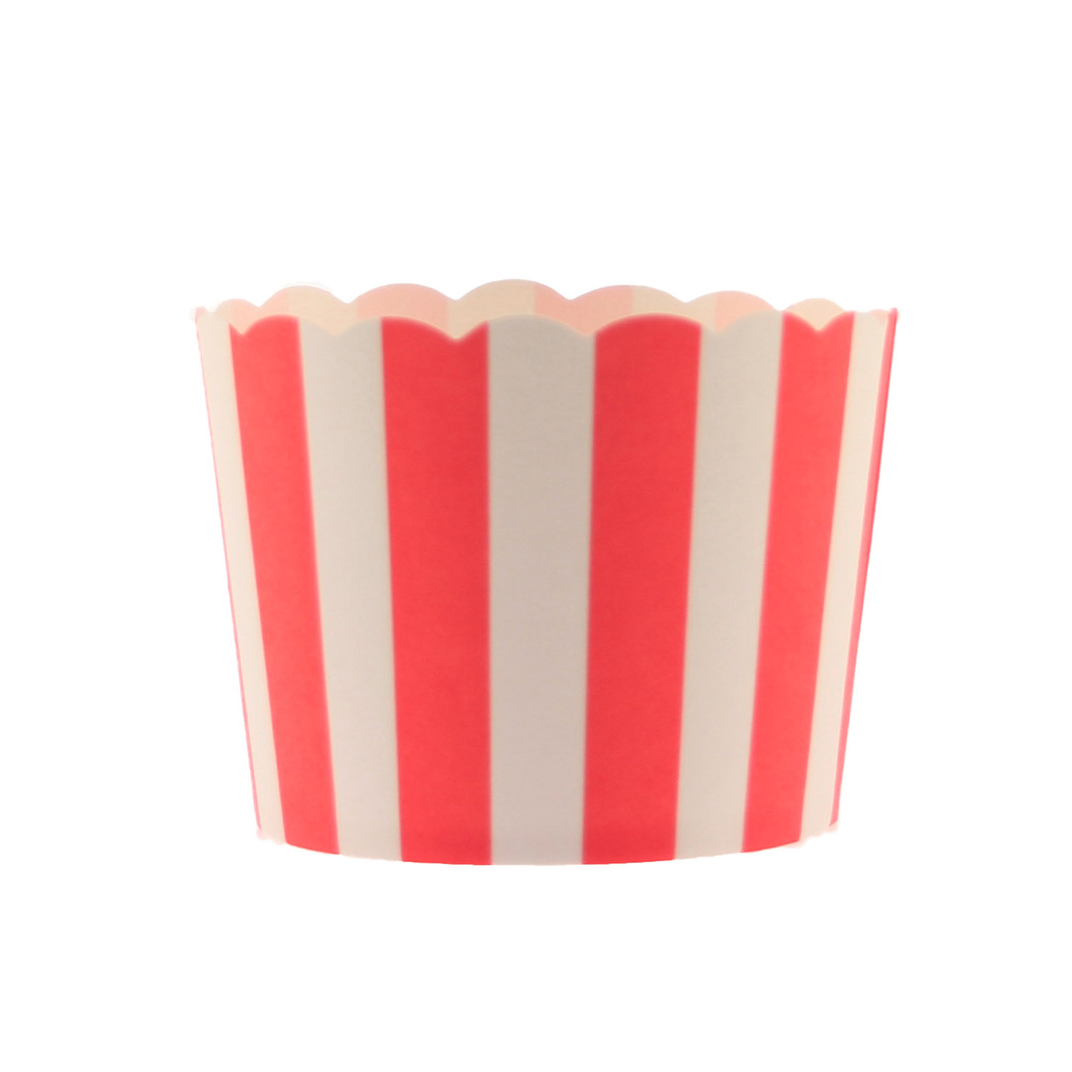 Red Stripe Bake In Cups - Small