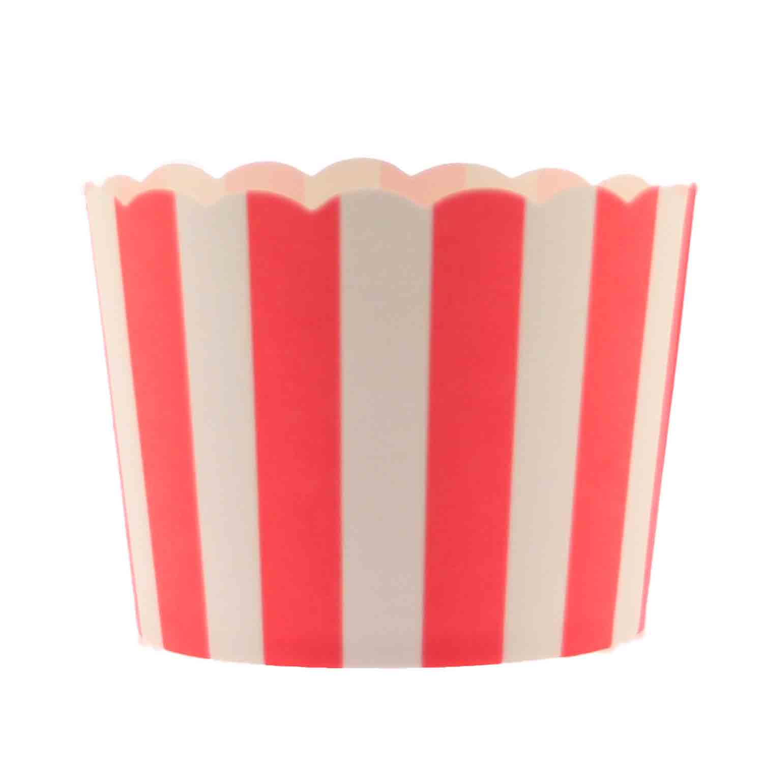 Red Stripe Bake In Cups - Lg