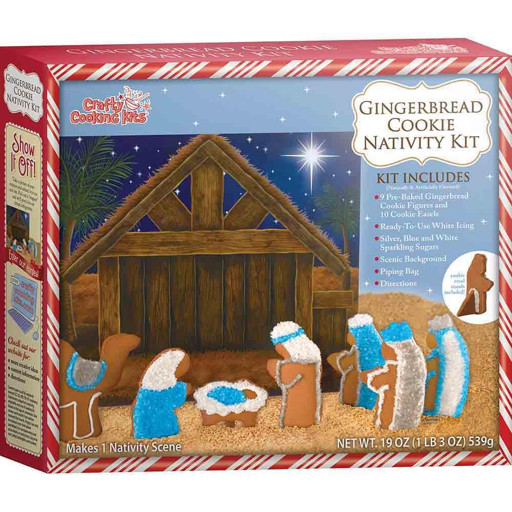 Nativity Gingerbread House Kit